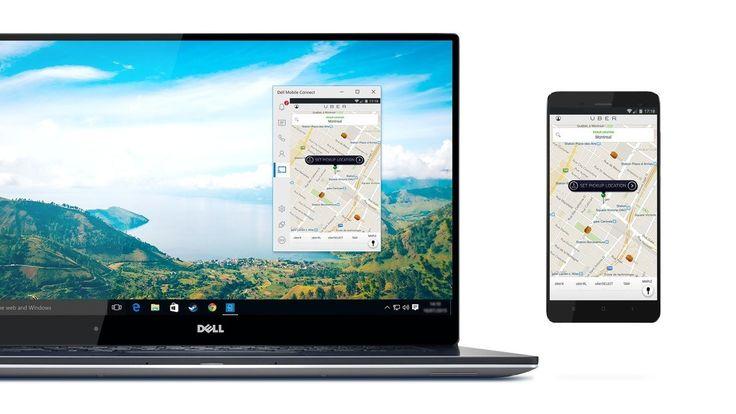 أداةMobile #Connect من شركة ديل لربط هاتفك مع جهازك الحاسوب