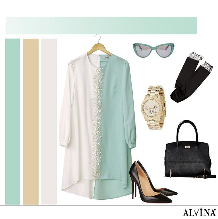 Sezonun Trend Rengi Mint ile Şıklığı Yakalayın.. #alvina #alvinamoda #alvinafashion #alvinaforever #hijab #hijabstyle #hijabfashion #tesettür #fashion #stylish #kombin #trend #mint