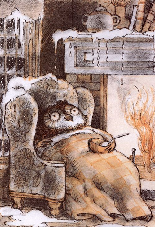 Arnold Lobel - Owl at Home