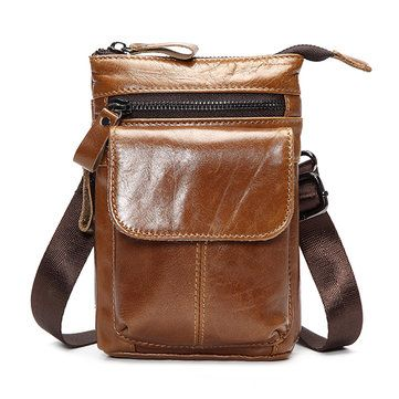 98 best articles images on pinterest backpacks travel and 7inch cell phone waist bag men retro genuine leather camera waist bag fandeluxe Choice Image