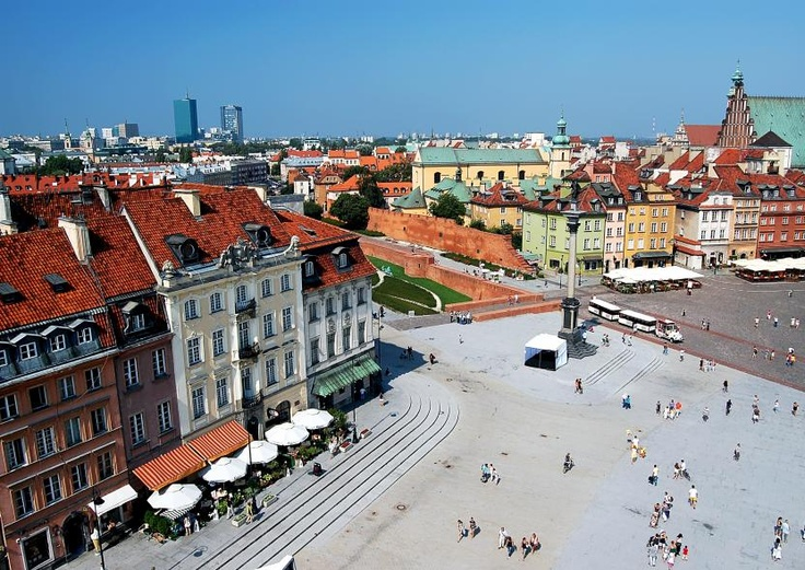 PRETTY. Poland's capital city , not often included on many tourist itineraries, deserves a fresh look.