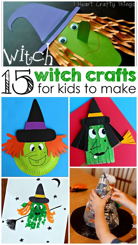 Witch Crafts for Kids to Make this Halloween - Crafty Morning