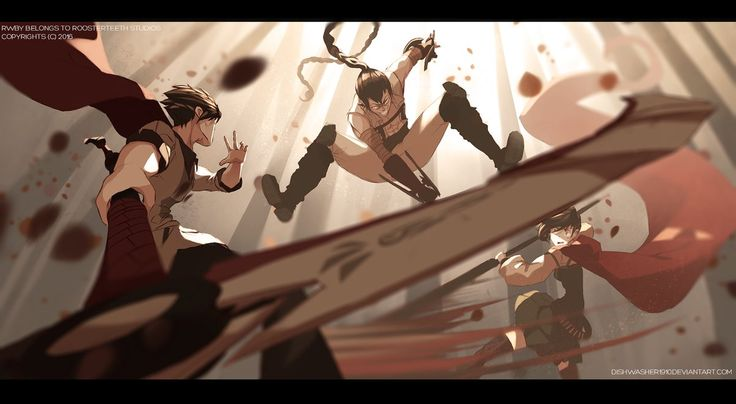 RWBY : Duel of fate by dishwasher1910 on DeviantArt