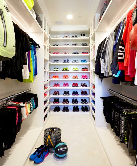 Khloe Kardashian Has a Fitness Closet and It's Insane: Photos - Us Weekly