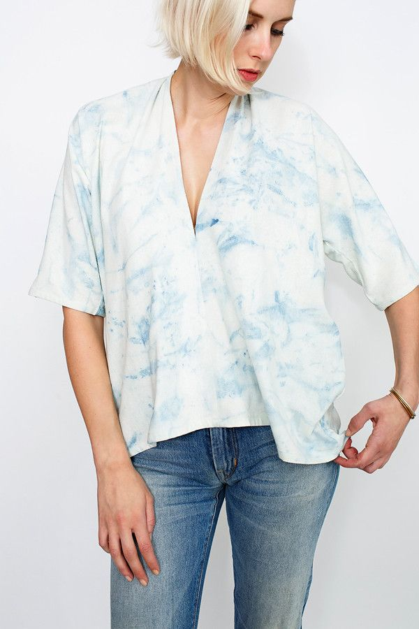 Arashi Muse Top, Silk