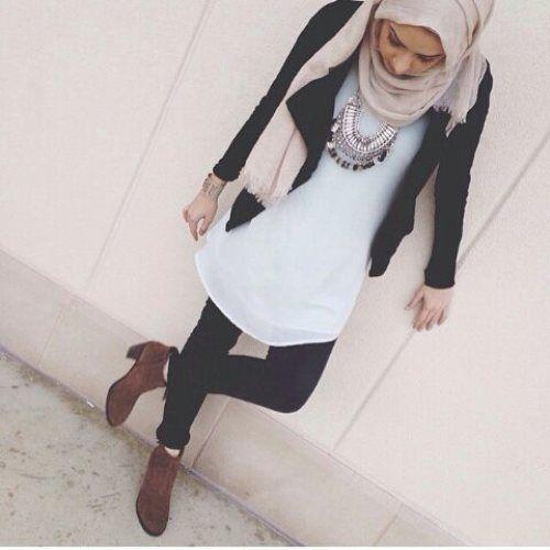 Beautiful fall hijab trends – Just Trendy Girls