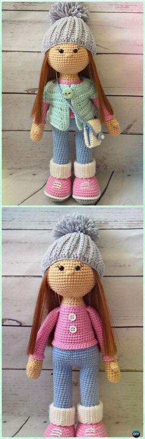 Best 25 Amigurumi Doll Ideas On Pinterest Crochet Dolls