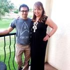 Me in my Stitch Fix maxi with my arm-candy-husband.