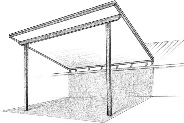 Flyover Roof Design for patio cover