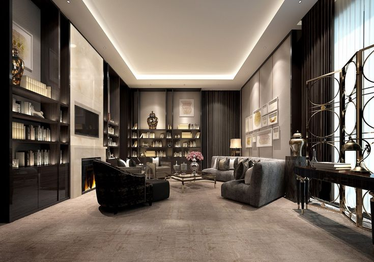 Vip room neoclassical hangzhou china for Interior designs study room