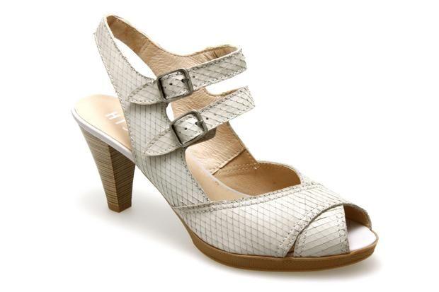 Nu-pieds HISPANITAS 25635 Beige - Chaussures femme