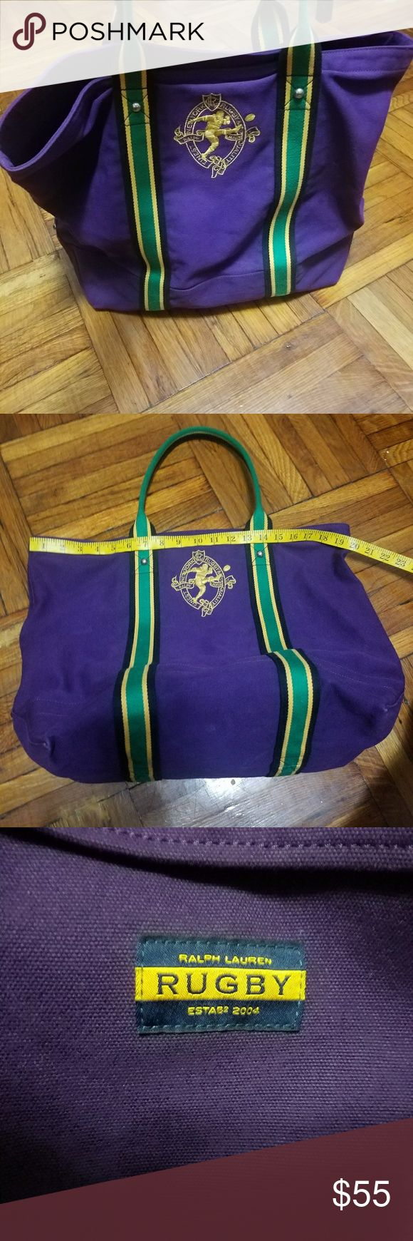 Ralp Lauren Rugby Canvas tote Like new and in great condition Ralph Lauren Bags