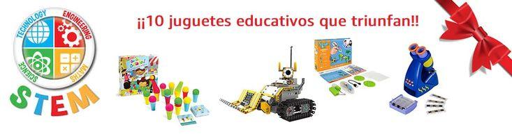 Los 10 juguetes educativos (stem toys) que triunfan con la vuelta al cole.