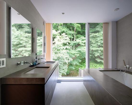 modern small bathroom designs