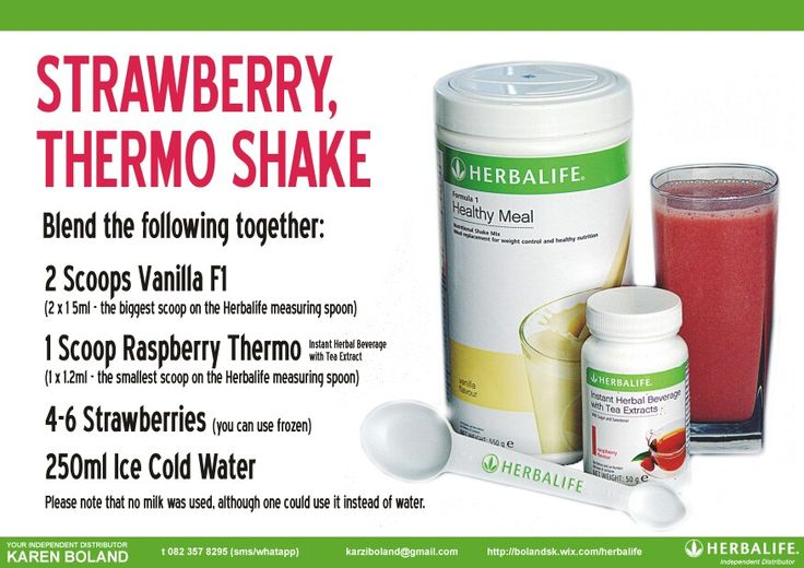 Tea in your shake, great way to get the benefits of the tea if you don't like the taste!
