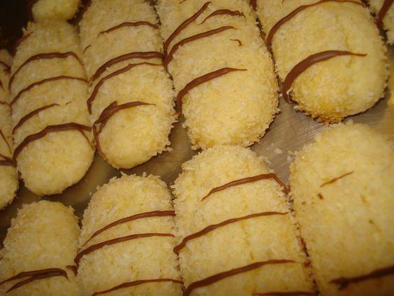 biscuits fondant noix de coco et citron