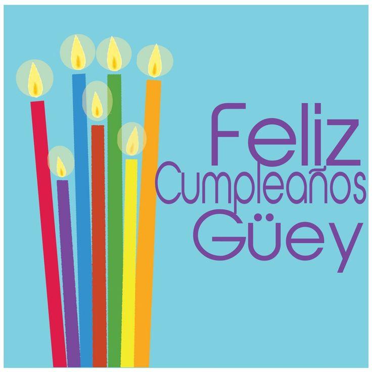 Feliz Cumpleaños guey!