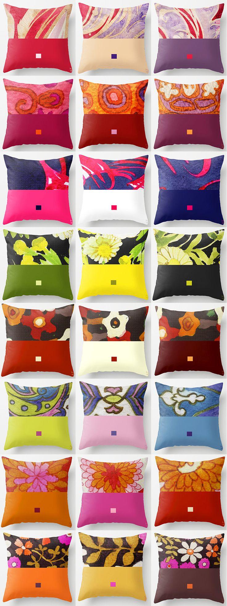 Progetto tessile di STRATEGIC-DESIGN per linea di cuscini in cotone stampato con grafica originale.