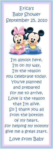 baby shower baby poems baby shower poems disney baby showers mickey
