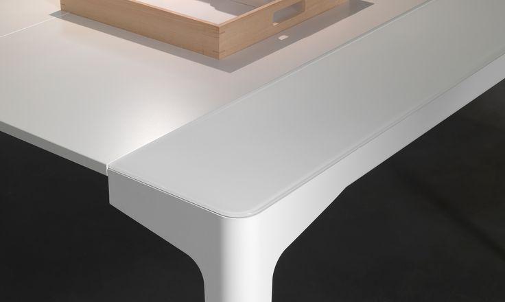 Oltre 25 fantastiche idee su tavolo di cristallo su - Tavolo corner riflessi prezzo ...