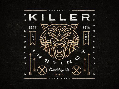 trendgraphy:  Killer Instinct Clothing Co. by Steve Wolf