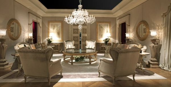 Classic Italian furniture by Provasi luxury living room | Chairs ...