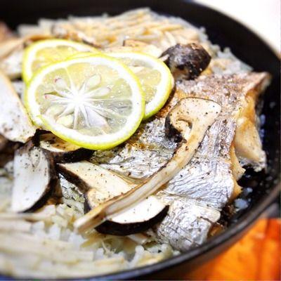 太刀魚と松茸の炊き込み御飯、かき醤油風味 by ta_x_kimiさん   レシピ ...
