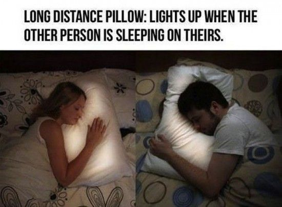 long distance relationship pillows OMG I NEED THESE