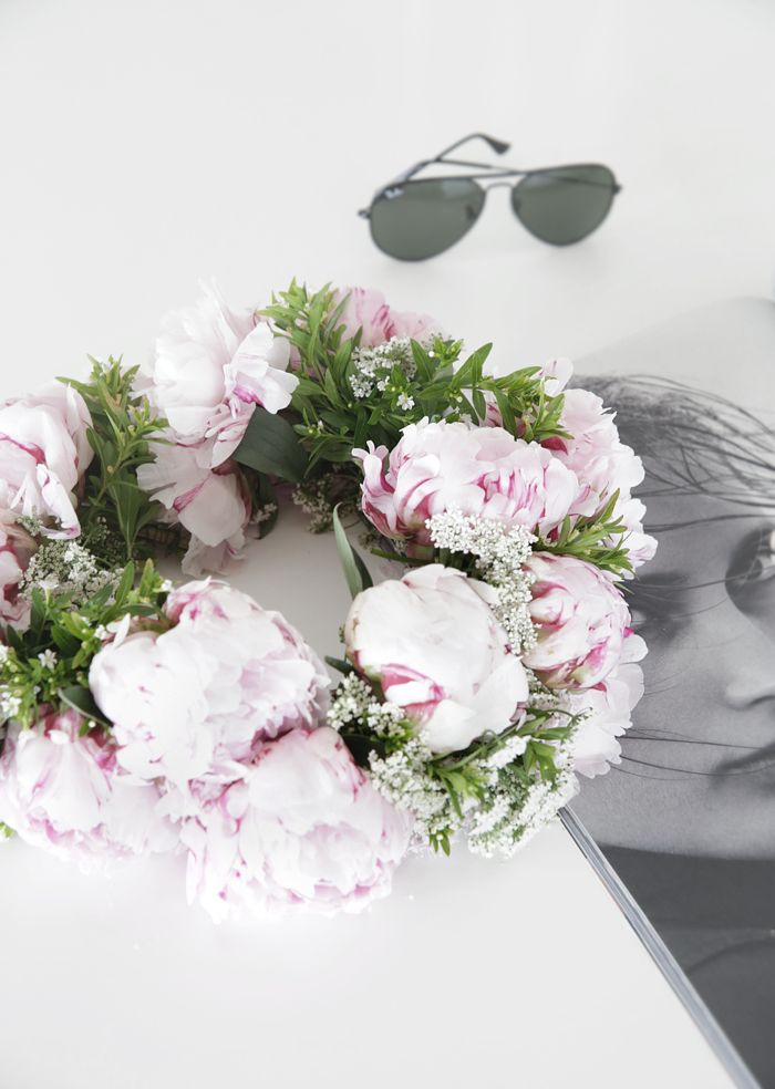 DIY: Flower wreath | Stylizimo Blog