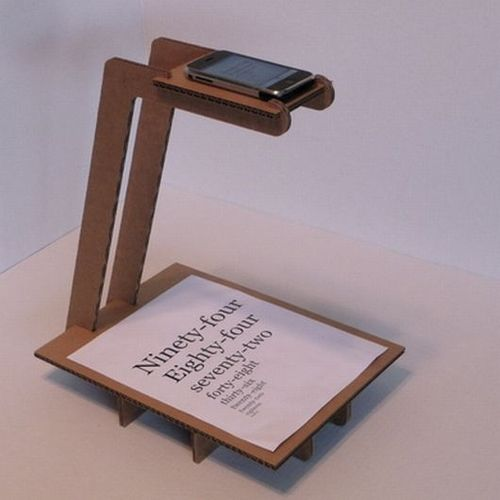 iPhone rostrum camera - DIY with corrugated cardboard. Can't afford the real thing? Well why don't you try making one out of cardboard! #diyrostrum #animationstand