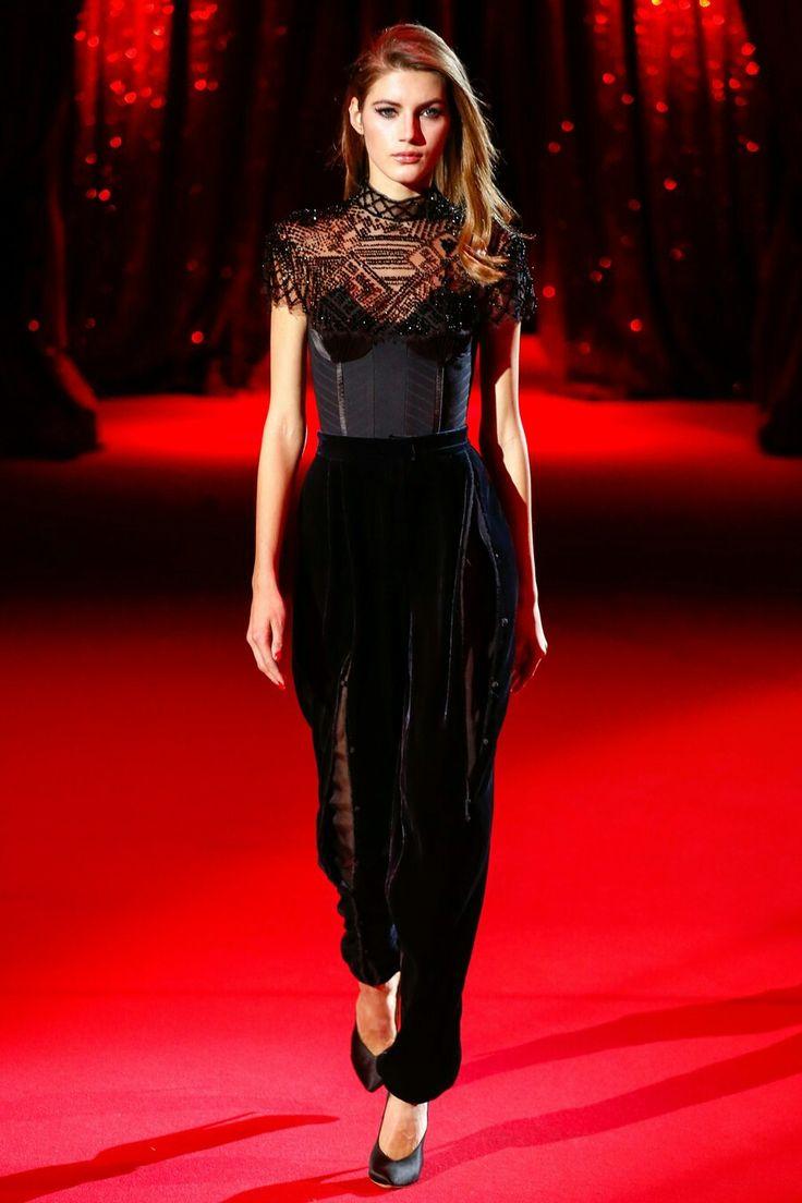 Best dressed from  Ulyana Sergeenko Haute Couture Spring 2017