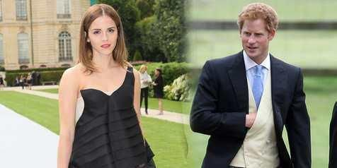 Hubungan Pangeran Harry Dengan Emma Watson Dibantah Kerajaan