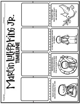 MARTIN LUTHER KING JR. ACTIVITIES$