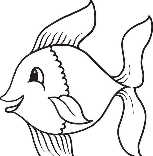 Cartoon Fish Coloring Page 1 Owl Coloring Pages Fish Coloring Fish Coloring Pages For Kids Preschool And In 2020 Owl Coloring Pages Fish Coloring Page Fish Drawings