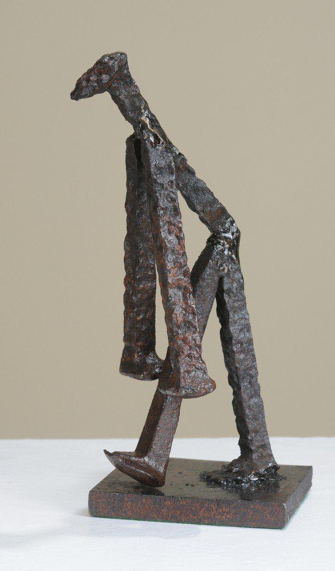 Major display of James Kitchen sculptures in Springfield, Mass. 01-19-2012
