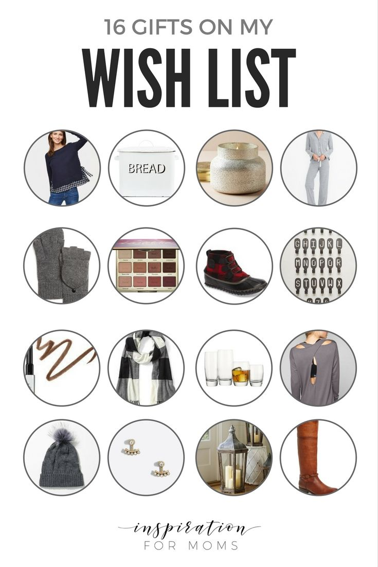 Everyone needs a Christmas wish list, or as I like to call it 'Organized Window Shopping'. Here are 16 gifts perfect for all your family and friends!