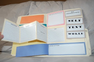 Lit Circle Foldable: Reading Portfolio, Interactive Reading, Teaching, Literature Circle, Classroom Ideas, Portfolio Freebie, Language Arts