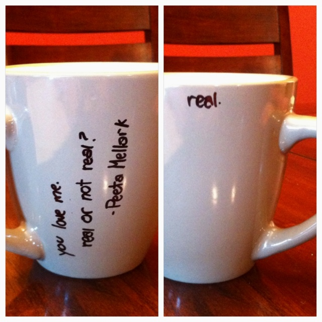 The hunger games DIY mug