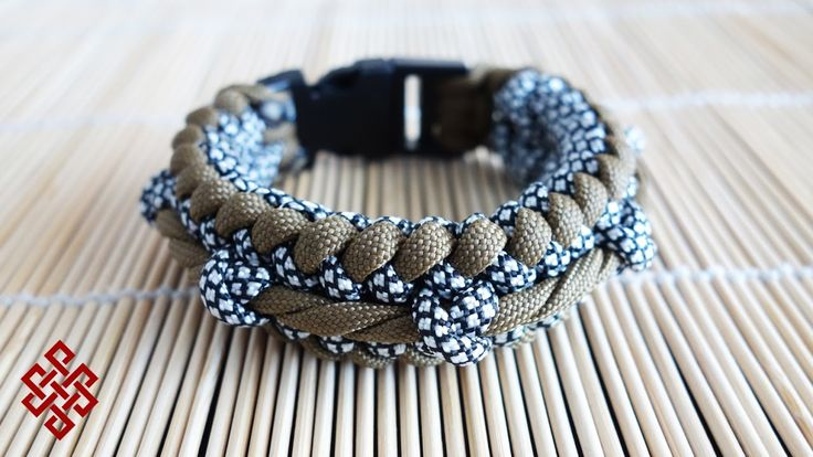 How To Make the Twisted Ridge Sanctified Paracord Bracelet Tutorial