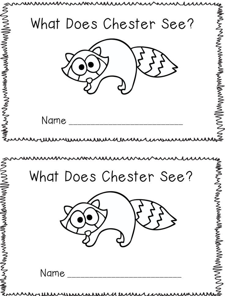 A freebie emergent reader to go with my shared reading book