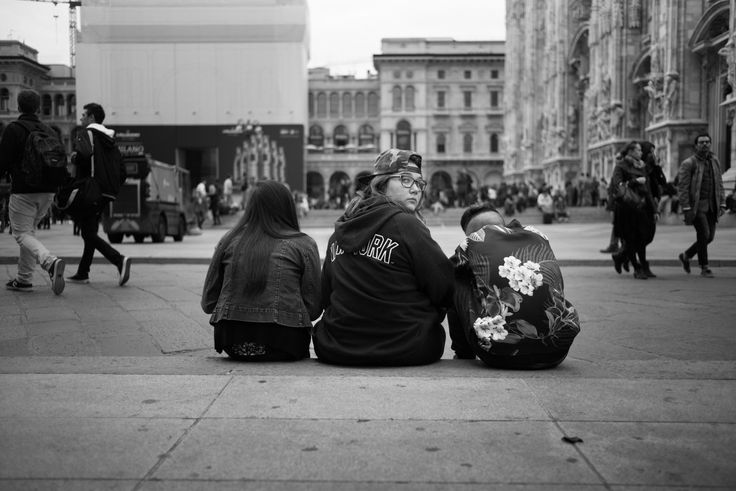Milano 2014 black and white street photography italy