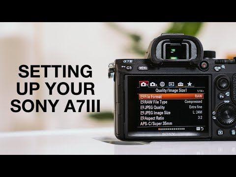 Sony a7iii manual