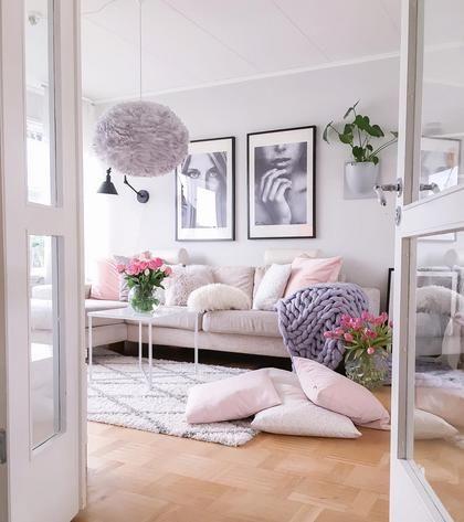 Ένα σπίτι σαν μπουντουάρ που θα ξυπνήσει το παιδί μέσα σας | deco , υπέροχα σπίτια | ELLE