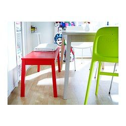 SIGURD Bench - red - IKEA