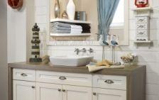 Vanité de salle de bain : Cape Cod
