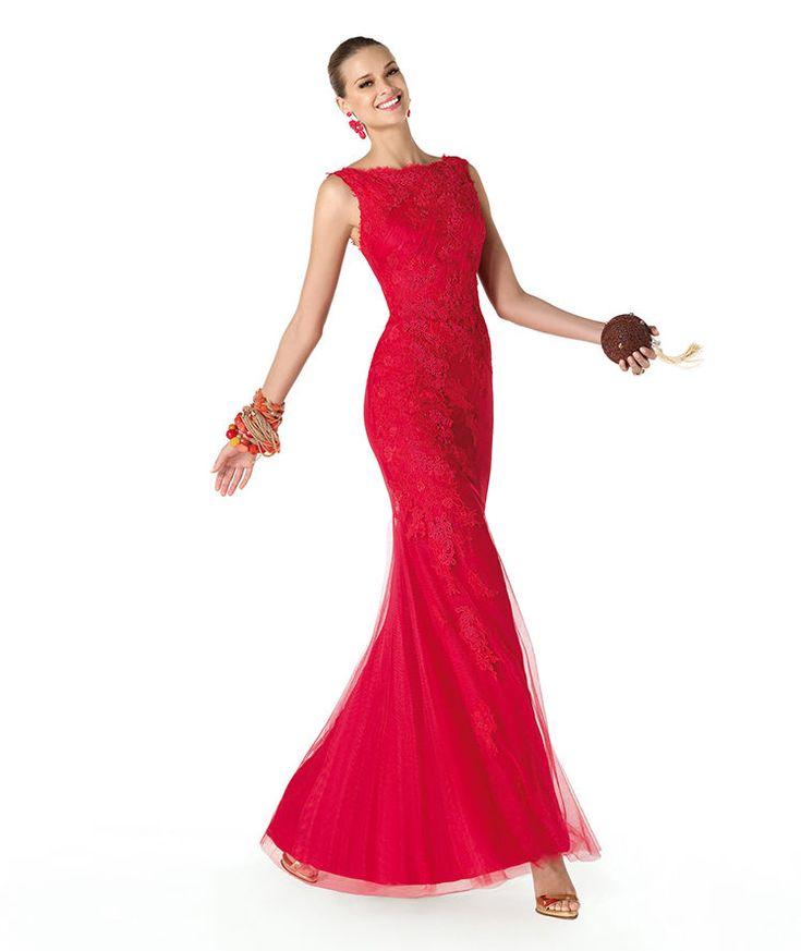 Pronovias te presenta su vestido de fiesta Rabi de la colección Fiesta 2014. | Pronovias
