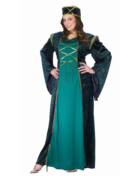710d6fdd194 Plus Size Lady In Waiting Costume Back in medieval times