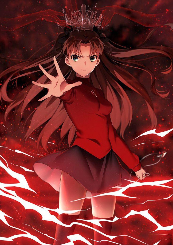 鑰匙君 on Twitter Fate stay night rin, Anime movies, Anime