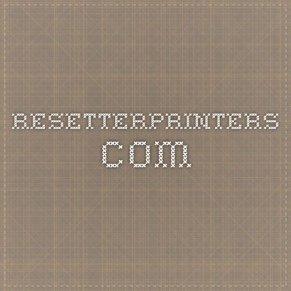 resetterprinters.com