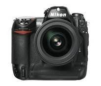Nikon D2X DSLR 12.4 MP Camera. Supplied Accessories - Type-B Focusing Screen, Rechargeable Li-ion Battery EN-EL4, Quick Charger MH-21, Body Cap, Camera Strap AN-D2X, A/V Cable. Image Size - Full Image - [L] 4,288 x 2,848-pixel / [M] 3,216 x 2,136-pixel / [S] 2,144 x 1,424-pixel, High Speed Cropped Image. Storage Media - CompactFlash Card (Type I / II) and Microdrive. 2.5 LCD Screen. Exposure Control - Programmed Auto with Flexible Program [P], Shutter-Priority Auto [S], Aperture-Priority...